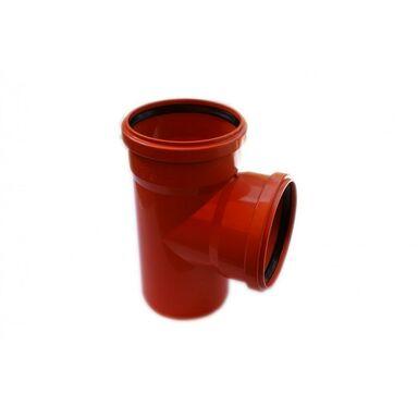 Trójnik kanalizacji zewnętrznej 160 x 160 mm/90° POLIPLAST