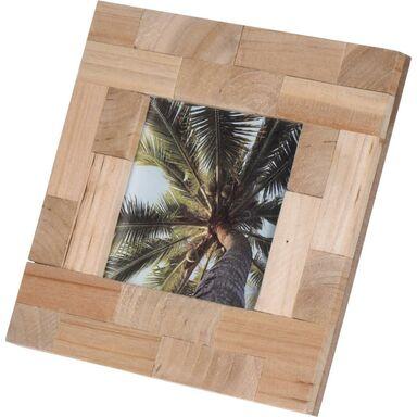 Ramka na zdjęcie 10 x 10 cm drewniana