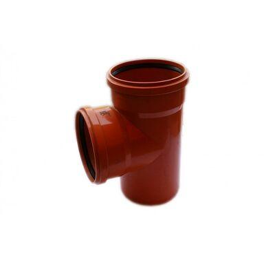 Trójnik kanalizacji zewnętrznej 200 x 200 mm/90° POLIPLAST