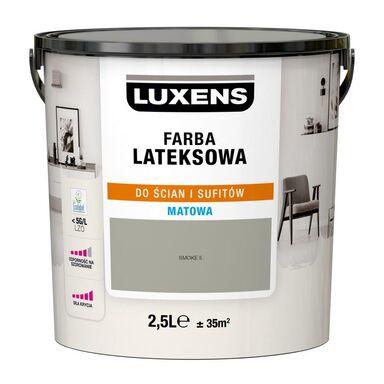 Farba wewnętrzna LATEKSOWA 2.5 l Smoke 5 LUXENS