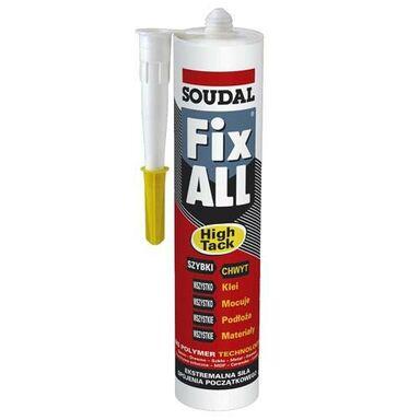 Uszczelniacz hybrydowy FIX ALL HIGH TACK 290 ml biały SOUDAL