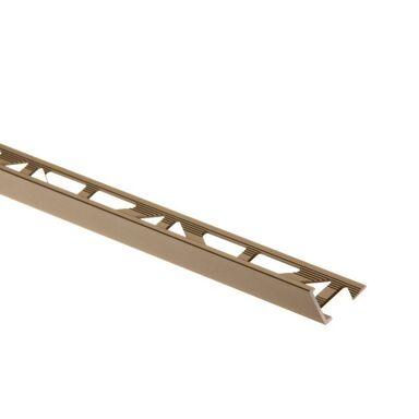 Profil wykończeniowy ZEWNĘTRZNY KĄTOWY aluminiumszer. 12,5 EASY LINE