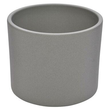 Osłonka ceramiczna 28 cm szara WALEC