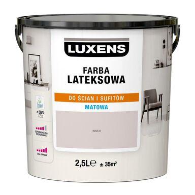Farba wewnętrzna LATEKSOWA 2.5 l Kiss 6 LUXENS