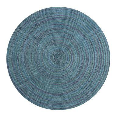 Podkładka na stół LOLLIPOP okrągła śr. 38 cm turkusowa