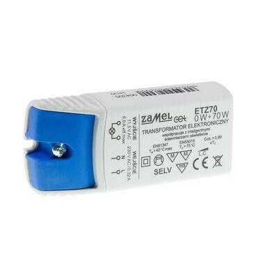 Transformator elektroniczny ETZ 0-70 W ZAMEL