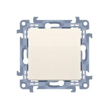 Włącznik pojedynczy SIMON 10  Kremowy  SIMON