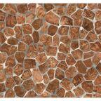 Okleina BECKY brązowa 45 x 200 cm imitująca kamień