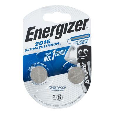 Bateria LITOWA CR2016 ULTIMATE LITH 2SZT. ENERGIZER