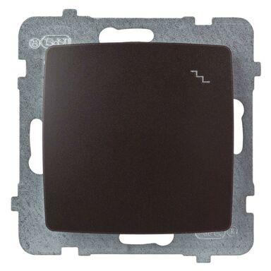 Włącznik schodowy KARO  czekoladowy  OSPEL