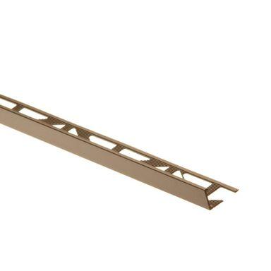 Profil wykończeniowy ZEWNĘTRZNY KĄTOWY aluminiumszer. 10 EASY LINE