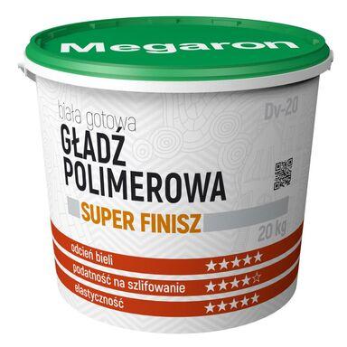 Gotowa gładź polimerowa SUPER FINISZ DV-20 20 kg MEGARON