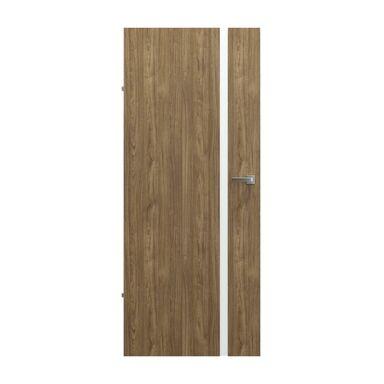 Skrzydło drzwiowe pełne bezprzylgowe Focus 4A Orzech naturalny 80 Lewe Porta