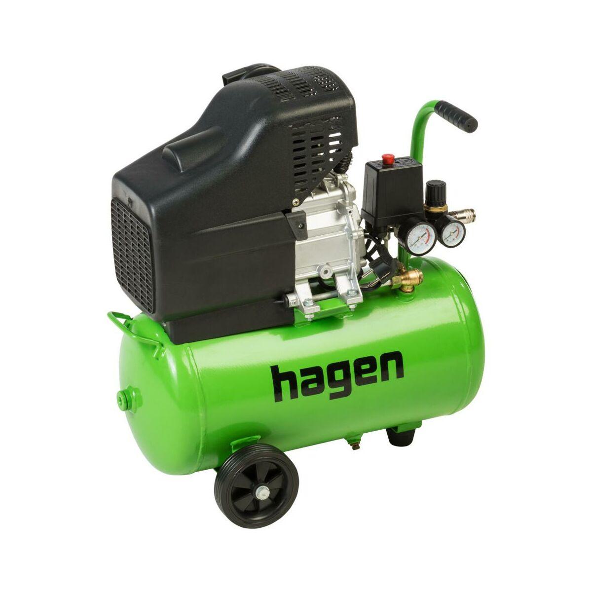 Kompresor Olejowy Hagen 24 L 8 Bar Ttdc24l Kompresory W Atrakcyjnej Cenie W Sklepach Leroy Merlin