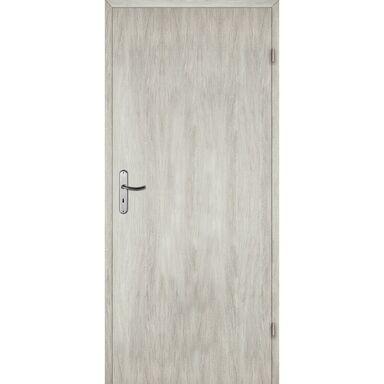 Skrzydło drzwiowe pełne ALBA Dąb silver 80 Prawe ARTENS