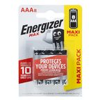 Bateria ALKALICZNA MAX AAA E92 8 SZT. ENERGIZER