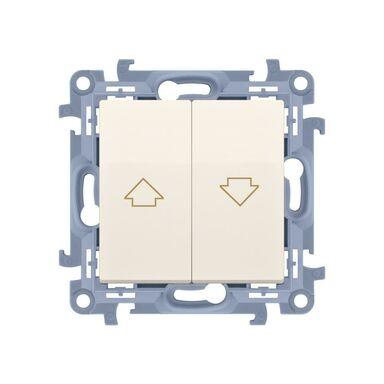 Włącznik żaluzjowy SIMON 10  kremowy  SIMON