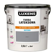 Farba wewnętrzna LATEKSOWA 2.5 l Granit 3 LUXENS