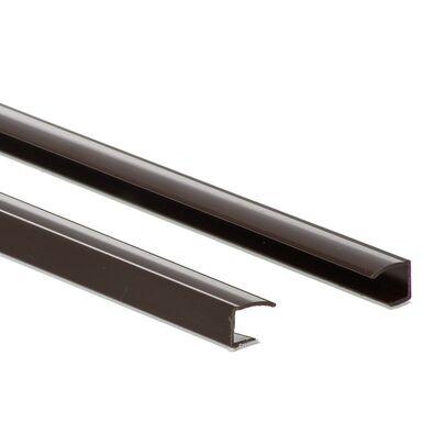 Prowadnica PCV do rolet 150 cm brązowa