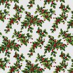 Tkanina świąteczna na mb X-Mas Magic zielona szer. 140 cm