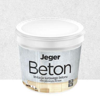 Efekt dekoracyjny BETON 7 kg Bianco JEGER