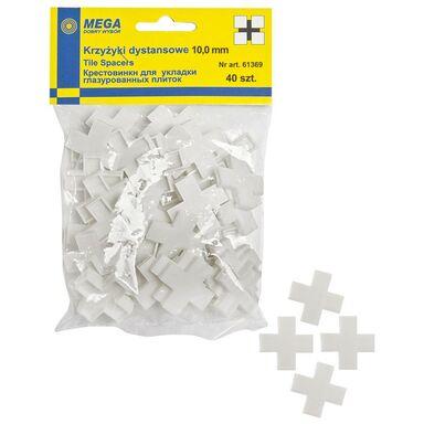 Krzyżyki 10,0 MM 40 SZT MEGA