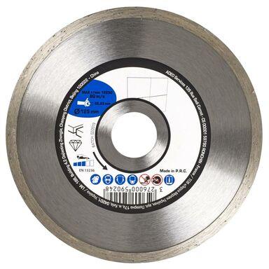 Tarcza diamentowa pełna DO CERAMIKI 125X2.1X22.2 mm