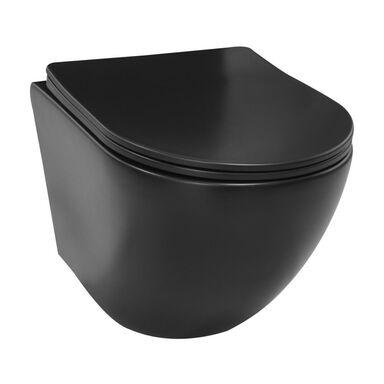 Miska WC wisząca ALICE BLACK DOMINO