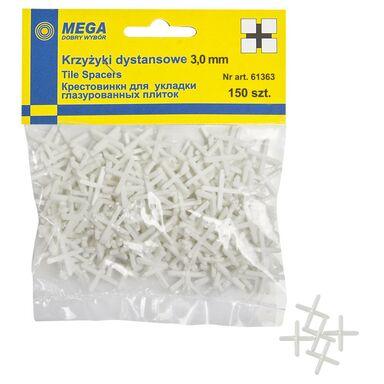 Krzyżyki 3,0 MM 150 SZT MEGA