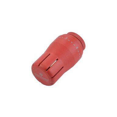 Głowica termostatyczna M30 x 1.5 DIAMANT STD CZERWONY MAT SCHLOSSER
