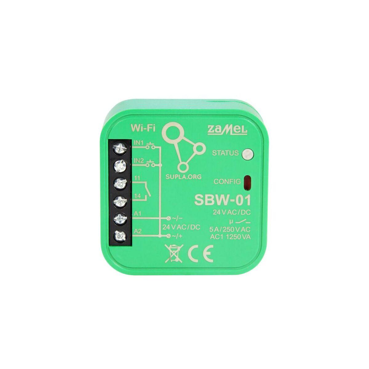 Sterownik bramowy Wi-Fi SBW-01 SUPLA ZAMEL