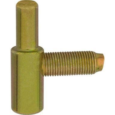 Skrzydełko dolne do zawiasu 13.5 mm Żółte 2 szt.