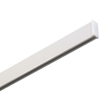Szyna sufitowa 1-torowa SLIM 240 cm biała aluminiowa MARDOM