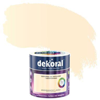 Farba wewnętrzna AKRYLIT W 2.5 l Brzoskwiniowy jasny DEKORAL