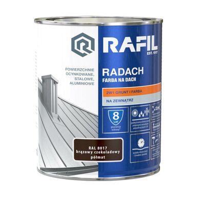 Farba na dach RADACH 0.75 l RAL-8017 Brązowy czekoladowy RAFIL