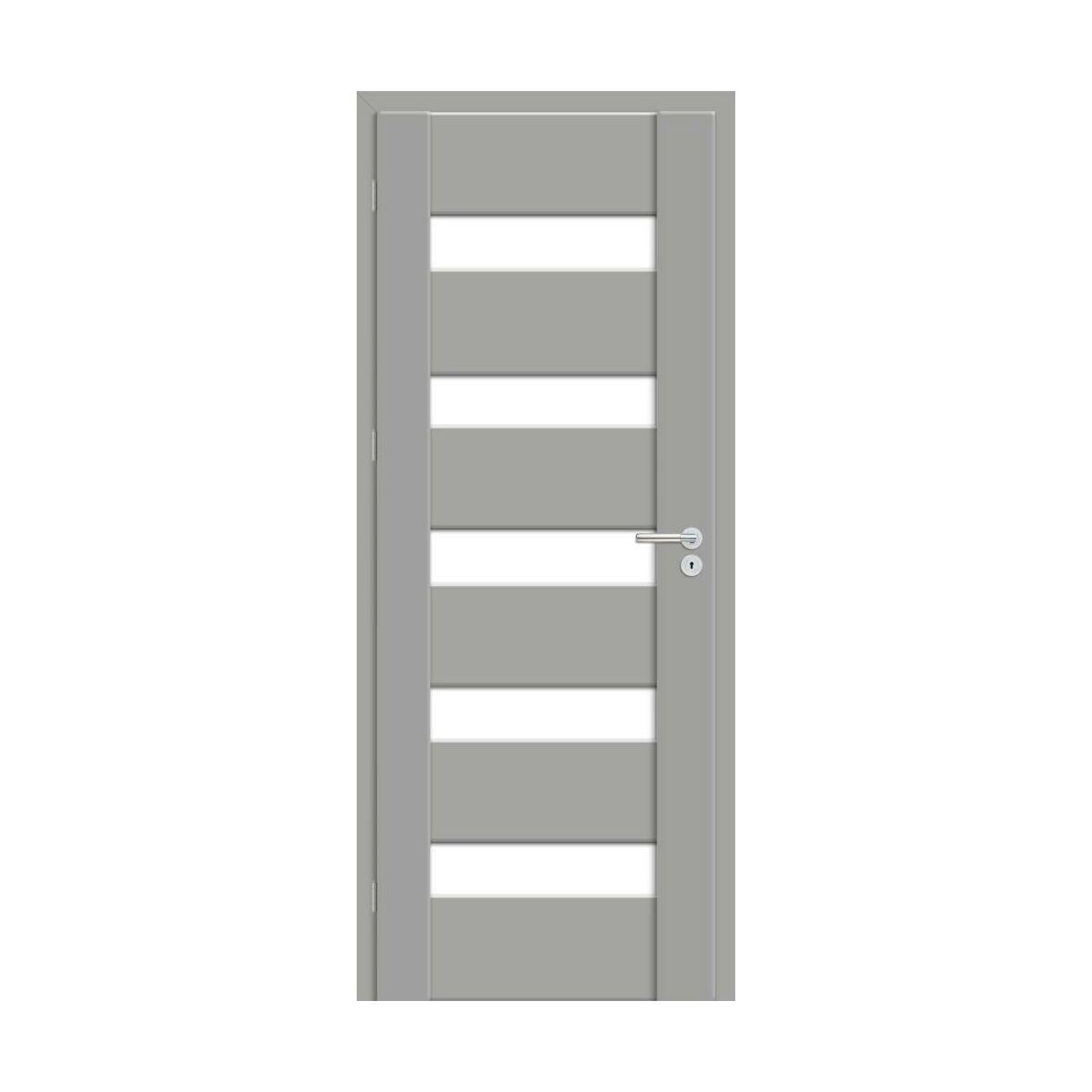 Skrzydlo Drzwiowe Pokojowe Pasto Szary Mat 80 Lewe Artens Drzwi Wewnetrzne W Atrakcyjnej Cenie W Sklepach Leroy Merlin