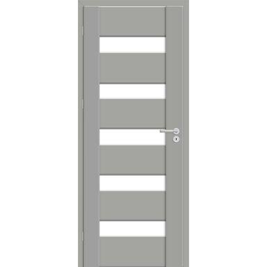 Skrzydło drzwiowe pokojowe PASTO Szary mat 90 Lewe ARTENS