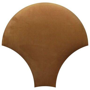 Panel ścienny tapicerowany Rybia łuska złoty