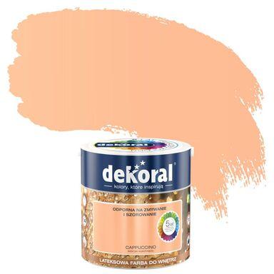 Farba wewnętrzna AKRYLIT W 2.5 l Cappuccino DEKORAL