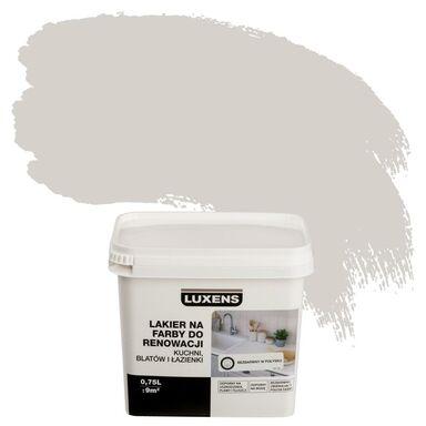 Lakier na farby 0.75 l do renowacji kuchni, blatów i łazienki Bezbarwny Połysk LUXENS