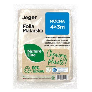 Folia malarska Nature Line Mocna 4 x 3 m Jeger