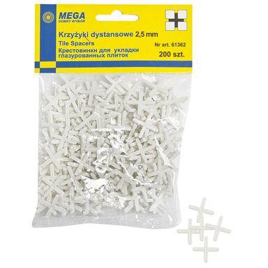 Krzyżyki 2,5 MM 200 SZT MEGA