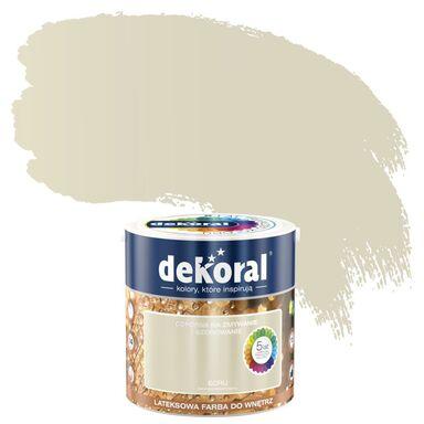 Farba wewnętrzna AKRYLIT W 2.5 l Ecru DEKORAL