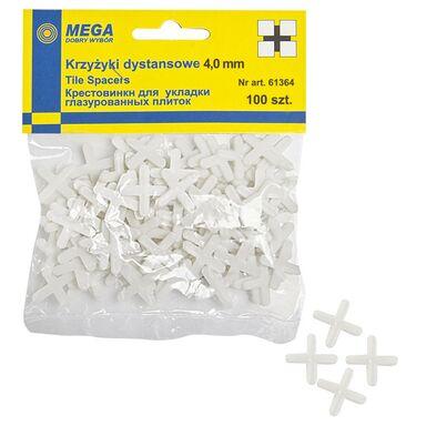 Krzyżyki 4,0 MM 100 SZT MEGA
