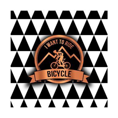 Kanwa BICYCLE 32 x 32 cm