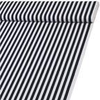 Tkanina bawełniana na mb ZEBRA ciemnoniebieska w pasy szer. 160 cm
