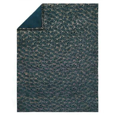 Pled Ginkgo zielono-złoty 150 x 200 cm