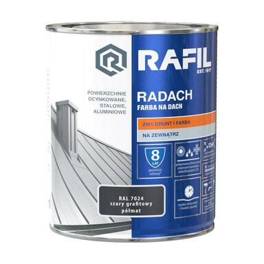 Farba na dach RADACH 0.75 l RAL-7024 Szary grafitowy RAFIL