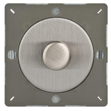 Ściemniacz przyciskowo-obrotowy VARILIGHT  Srebrny  VARILIGHT