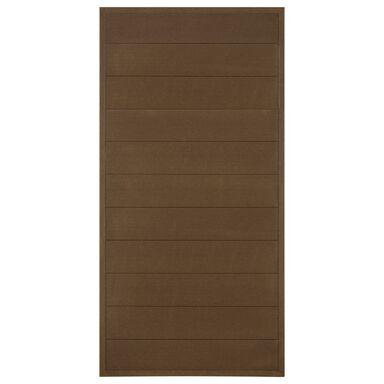 Płot kompozytowy 86.5x173 cm brązowy WPC WINFLOOR
